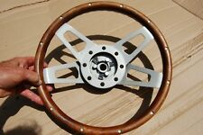 """13"""" Deep Dish Steering Wheel- Adapter Kit:  Fits Most American Makes A P"""