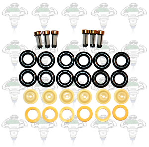 Bosch 0280150 Series Fuel Injector Seals & Filters For 6 Cylinders - Kit 10