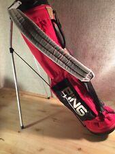 Vintage PING Walking Red Sunday Lightweight GOLF BAG