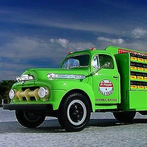RARE #1 - DR. PEPPER of TOPEKA KANSAS  / 1951 Ford Bottlers Truck - First Gear