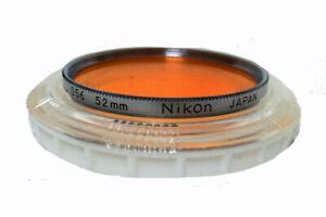 Nikon 52mm Orange Filter  056