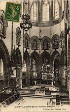 CPA   Lonlay-l'Abbaye (Orne) - Intérieur de l'Eglise (434983)