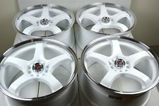17 white Wheels Fusion Dart Edge Escape HHR Malibu Cobalt SS G6 5x108 5x110 Rims