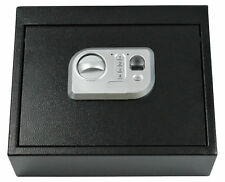 Biometric Fingerprint Drawer Personal Gun Safe, Black