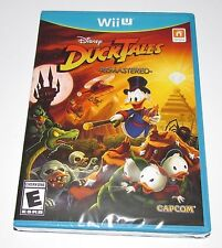 DuckTales Remastered for Nintendo Wii U Brand New, Factory Sealed!