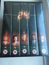 Rare 24 Box Set 5 VHS Videos.Season One 1 Collection New & Sealed