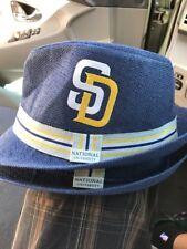 MLB San Diego Padres Giveaway Fedora Hat 7 3/8 2pc Lot SGA