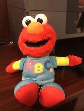 ABC Talking Singing Elmo Sesame Street 2013 Hasbro Plush Doll Toy