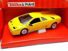 Tonka Polisitil 1/18 - Lamborghini Diablo Jaune