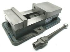 Nice Kurt Anglock 6 Milling Machine Vise With Jaws Amp Handle D60