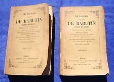 Mémoires de Roger DE RABUTIN  Comte de Bussy / 1882 / Histoire France Militaria
