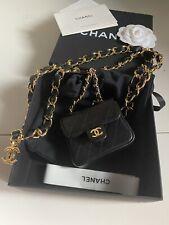 Cc   Multi Pouch Bag Belt Chain Trapuntato