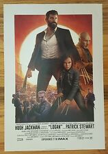 "LOGAN Official Premiere night 13"" x 19"" MAX Poster-MARVEL X-MEN, WOLVERINE-VHTF"