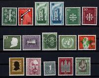 CB145219/ WEST GERMANY – YEARS 1955 - 1956 MINT MNH SEMI MODERN LOT