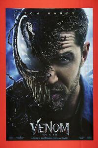 Marvel Venom Tom Hardy Movie Picture Poster 24X36 NEW VENM