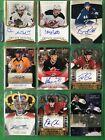 Autograph Hockey Mixed lot (9 cards) st1894