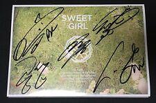 "B1A4 autographed ""Sweet Girls"" 6th Mini Album signed PROMO CD"
