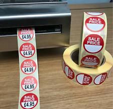 Thermal Printer - Circular - Red - Sale Price - Labels / Stickers