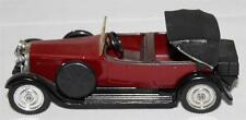 Vintage Diecast Model Car - Solido - 1926 6 Cyl Hispano-Suiza H6B