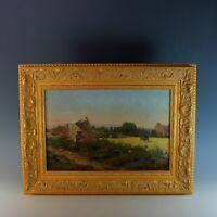 Provence Landscape Oil Painting by Lucas de Montigny (1844-1908)