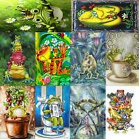5D DIY Full Drill Diamond Painting Puppy Frog Cross Stitch Embroidery Art Kits