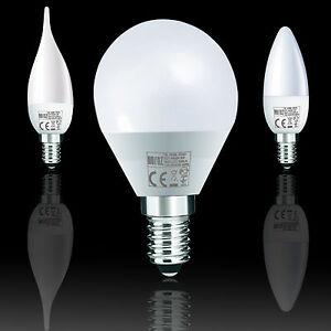 LED Leuchtmittel Lampe Birne Kerzenlampe Glühbirne E14 Warmweiß Kaltweiß