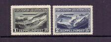 LIECHTENSTEIN 1931 ZEPPELINS ( 2 ) LMM CAT £300
