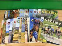 Huge Lot of 32 Adventure Cyclist Magazine - Touring, Biking, Travel mags-2010-13