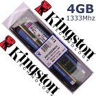 Memoria RAM DDR3 4GB 1333Mhz - Kingston ¡ NUEVA ! - 100% COMPATIBLE
