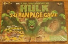 The Incredible Hulk 3-D Rampage Game Roseart 2003 New In Box