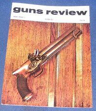 GUNS REVIEW MAGAZINE DECEMBER 1972 - 100 YEARS OF SPRING AIR PISTOLS