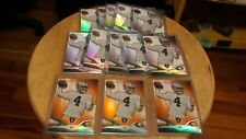 2014 Topps Platinum Derek Carr Rookie Lot X13