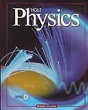 Holt Physics by Jerry S. Faughn, Raymond A. Serway, Good Book