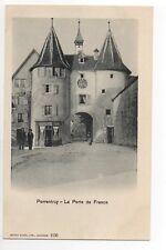 SUISSE SWITZERLAND Canton du JURA PORRENTRUY la porte de france café