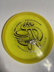 New AbC Discs Money Putter RARE Blue 171g