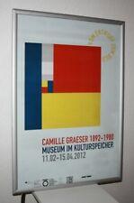 Camille Graeser Künstlergruppe Max Bill Lohse Loewensberg  Poster Konkrete Kunst