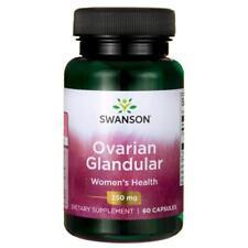 Raw Ovarian Glandular 250 mg x 60 Capsules Fast & Free Delivery