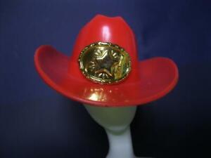 1993 WESTERN STAMPIN Stamp BARBIE TERESA TARA DOLL RED COWBOY Hat w/Gold Star