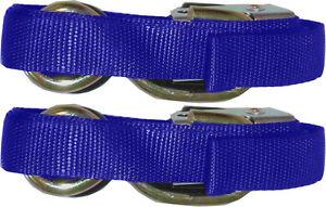 892032 Tie Down Straps (1 x pair, blue, heavy duty) see description