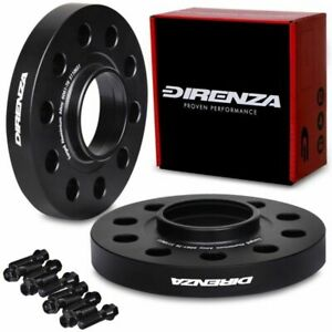 DIRENZA 5x110 20mm HUBCENTRIC FORGED ALLOY WHEEL SPACER PAIR FOR FIAT 500X CROMA