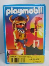 Playmobil Western Set 3877 Nativo Indio hechicero Figura Nuevo y Sellado