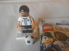 Lego minifigures German footballer Khedira #6 team DFB 71014 mini figure rare