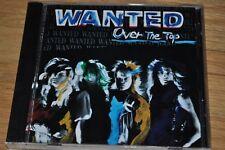 WANTED Over The Top CD 1993 JAPAN press RARE HAIR METAL Pangea GREAT KING RAT