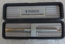 Vintage Parker Flighter 180 Fountain Pen, Box, Converter & Instructions-Warranty