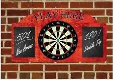 Bar Sign Sports Bar Room Sign Pub Sign Man Cave Sign Den sign Darts Wall Plaque