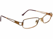 Cazal Eyeglasses  Gold Rectangular Metal Frame 53[]18 135