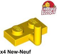 10x Plate Modified 1x2 Arm Up 5mm noir//black 88072 NEUF Lego