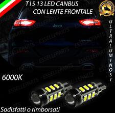 LAMPADE RETROMARCIA 13 LED T15 W16W CANBUS JEEP CHEROKEE V NO ERROR