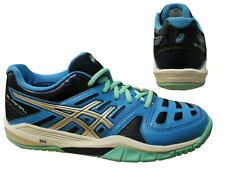 Asics Gel-Fastball Blue Lace Up Sports Womens Running Trainers E464Y 4093 X12B