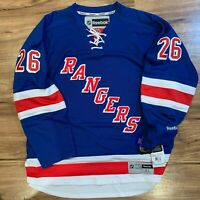 NHL New York Rangers Men St. Louis Reebok Premier Jersey Blue MSRP $170